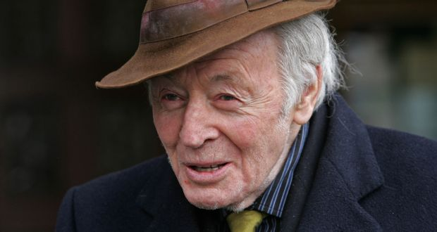 Writer Ulick O'Connor, pictured in 2011. Photograph: Eric Luke / The Irish Times