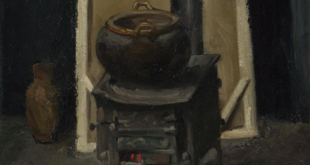 Detail from The Stove in the Studio, c. 1865 by Paul Cézanne. In the collection of the National Gallery, London. Photograph: Fine Art Images/Heritage Images/Getty