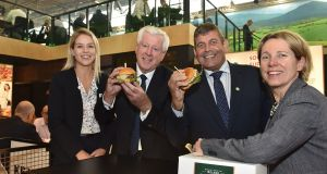 Kepak head of sales north America Joanne Farrelly, managing director  John Horgan, Minister of State for Food Andrew Doyle and Bord Bia chief executive Tara McCarthy at the announcement of the US venture.