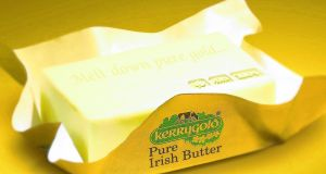 Kerrygold  sells  three million packets of butter in the US each week.