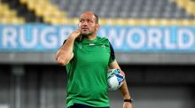 Ireland hooker Rory Best. Photograph:  Filippo Monteforte/AFP via Getty Images