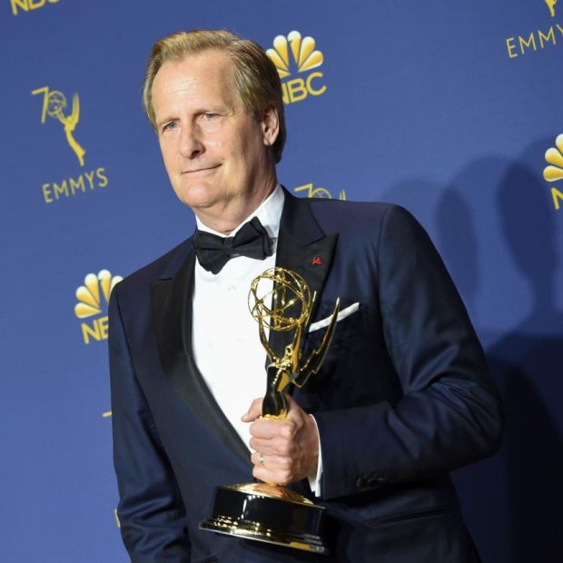 A Higher Loyalty: Jeff Daniels will play the former FBI director James Comey. Photograph: Valerie Macon/AFP/Getty