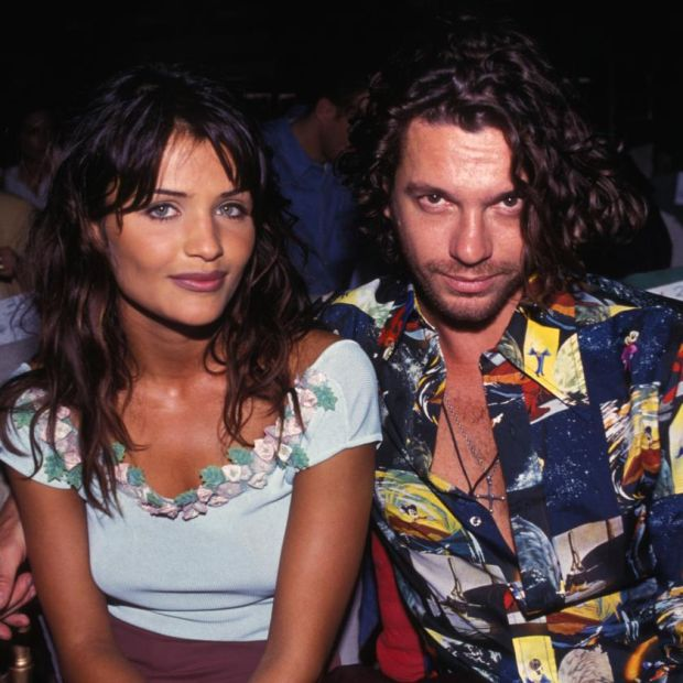 Michael Hutchence: the singer with Helena Christensen in 1992. Photograph: Arnal/Gamma-Rapho via Getty