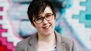 Belfast Journalist Lyra McKee  was killed during riots in Derry on  April 18th 2019. Police Service of Northern Ireland said that McKee was allegedly shot while reporting on clashes with dissident republican rioters. Photograph: Jess Lowe/EPA