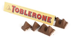 Toblerone made the gap between the chunks in some of its chocolate bar wider while keeping the size of its packaging