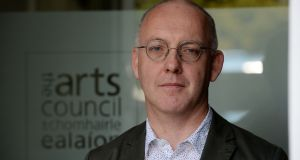 Arts Council chairman Kevin Rafter: welcomed the increase in its budget. File photograph: Alan Betson