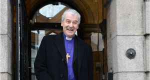 Church of Ireland Archbishop of Dublin Michael Jackson has issued a warning on Brexit. File photograph: Dara Mac Dónaill/The Irish Times