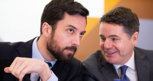 Minister for Housing Eoghan Murphy and Minister for Finance Paschal Donohoe. File photograph: Tom Honan