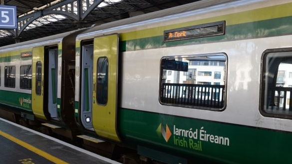 Heuston trains delayed by up to an hour due to vandalism
