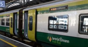 The delays were  due to   vandalism of signalling equipment between Newbridge and Kildare overnight. File photograph: Eric Luke / The Irish Times