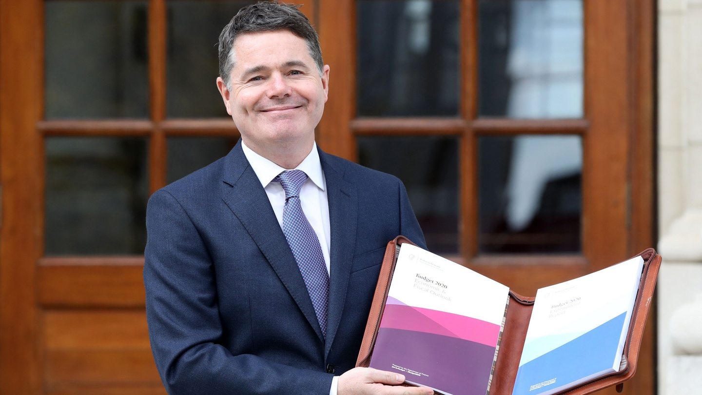 Donohoe keeps everything centred with middle-of-the-road budget