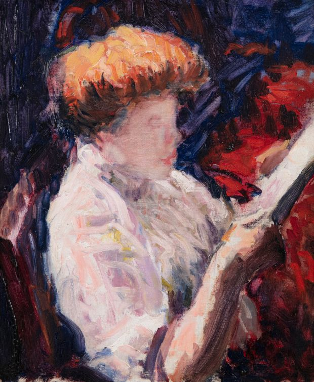 Woman Reading by Roderic O'Conor €30,000-€50,000 Adam's