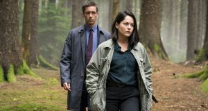 Killian Scott and Sarah Greene in Dubln Murders
