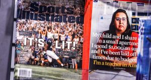 Sports Illustrated announced last week that it was laying off half its staff. Photograph: Jeenah Moon/New York Times