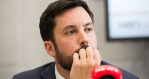 Minister for Housing Eoghan Murphy  said he 'can't condone that kind of activity, or officials from any local authority being involved in that type of activity'. Photograph: Gareth Chaney Collins
