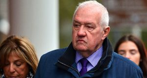 David Duckenfield arrives at Preston Crown Court on October 7th  in Preston, England. Photograph:  Richard Martin-Roberts/Getty Images