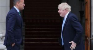 Leo Varadkar and Boris Johnson will meet in private for two hours