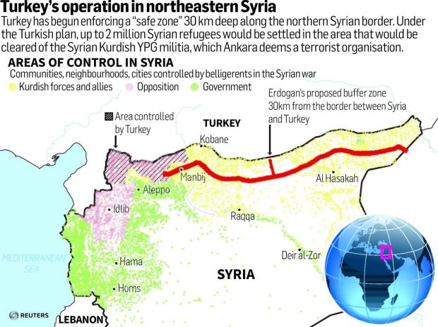 Q&A: Who are the Kurds and why is Turkey fighting them in Syria?