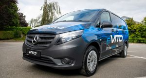 Those expecting this to be a panel-van version of Merc's incoming 450km-ranged EQV MPV will be disappointed.