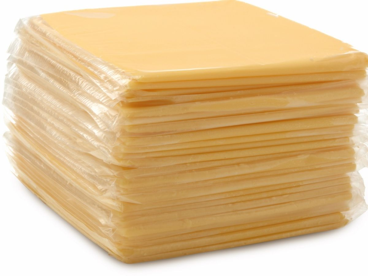 What's really in a packet of processed cheese slices?