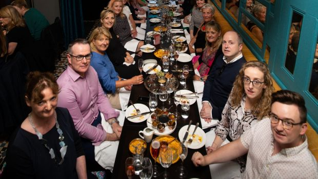 Members of the Irish Times Food and Drink Club at Pickle Eating House, Camden Street. Photographs: Tom Honan