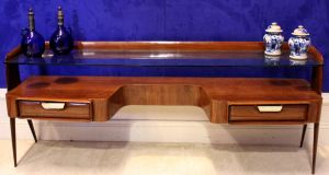 Mid century rosewood dressing table at Hegarty's Auction
