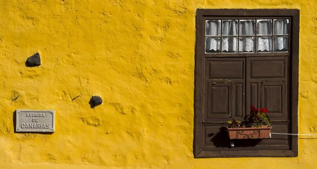 Detail of a house in Icod de los Vinos, Tenerife, Canary Islands. Photograph: Mikel Bilbao/Getty
