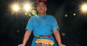 Burgerz: Travis Alabanza lifts the lid on our potential for empathy, alliance and complicity. Photograph: Dorothea Tuch