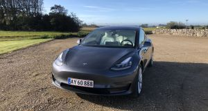 The Tesla Model 3 an official range of up to 560km depending on your choice, a 0-100km/h time as low as 3.4 seconds, and a price tag starting at €48,900.