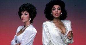 Diahann Carroll's Dominique Deveraux, right, proved a match for Joan Collins's Alexis Colby in Dynasty. Photograph: ABC Photo Archives/Walt Disney Television via Getty