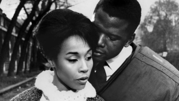 Diahann Carroll and Sidney Poitier in Paris Blues (1961). Photograph: United Artists/Sportsphoto /Allstar