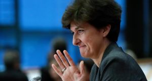 Sylvie Goulard is being investigated by the EU anti-fraud unit Olaf. Photograph: Olivier Hoslet/EPA
