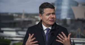 Minister for Finance Paschal Donohoe's cautious budget was entirely appropriate given the huge uncertainty facing the country over Brexit. Photograph: Paulo Nunes dos Santos/Bloomberg