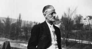 James Joyce: no escaping him, even in Japan. Photograph: Hulton Archive/Getty