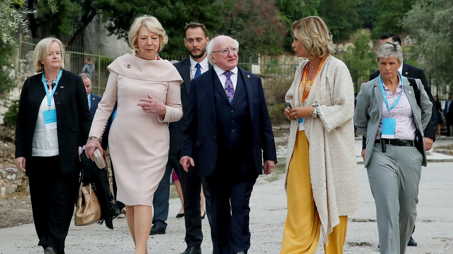 Climate change: Higgins warns of judgment by 'future generations'