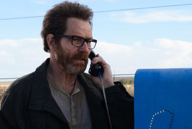 El Camino: Bryan Cranston as Walter White in the Breaking Bad finale. Photograph: Ursula Coyote/AMC/Netflix