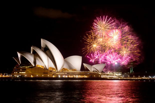 New Year celebrations in Sydney. Photograph: iStock