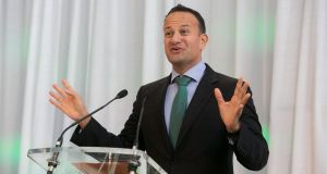 A November election would require Taoiseach Leo Varadkar to gamble his office, when he could look forward to sitting in it for another six months. Photograph: Gareth Chaney/Collins