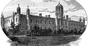 Queen's College, Galway, 1900. Illustration: The Print Collector/Print Collector/Getty
