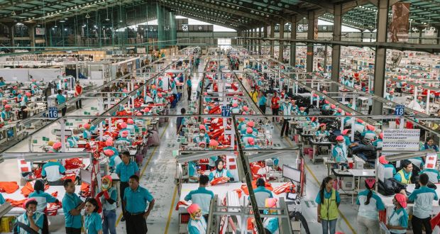 fast fashion mass production of clothing