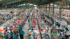 Workers in an Indonesian garment factory. Photograph: Muhammad Fadli/Bloomberg via Getty Images