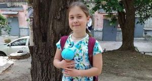 Elizaveta Kiseleva (9): her body was found in an abandoned garage in Saratov on Thursday evening, the day after she disappeared on her way to school.
