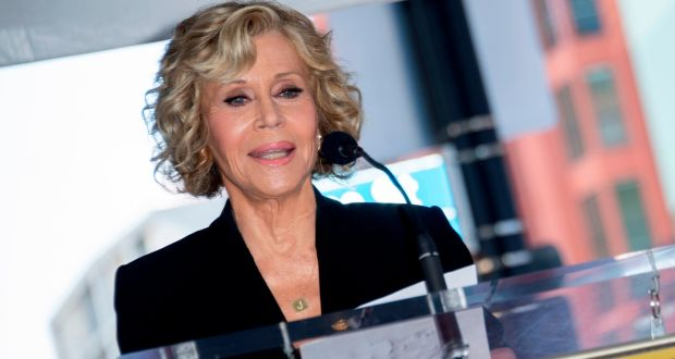 Actor Jane Fonda has been arrested. File photograph: Valerie Macon/AFP via Getty Images