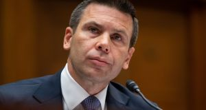 In this file photo taken on July 18th, 2019, of former US acting secretary of Homeland Security Kevin McAleenan. Photograph: Saul Loeb/AFP/Getty Images