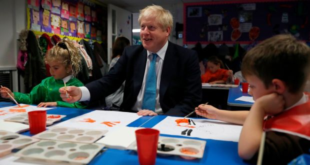 Britain's prime minister Boris Johnson: Britain is not leaving Europe over an unelected elite that bullies smaller nations – it is leaving because it misses being the bully. Photograph: Alastair Grant