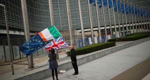 The survey highlights Irish SMEs' concerns over Brexit.  Photograph: AP