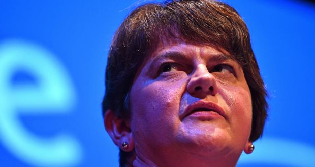 DUP leader Arlene Foster. Photograph: Ben Stansall/AFP/Getty