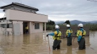 Rescue continues after deadly typhoon floods towns in Japan