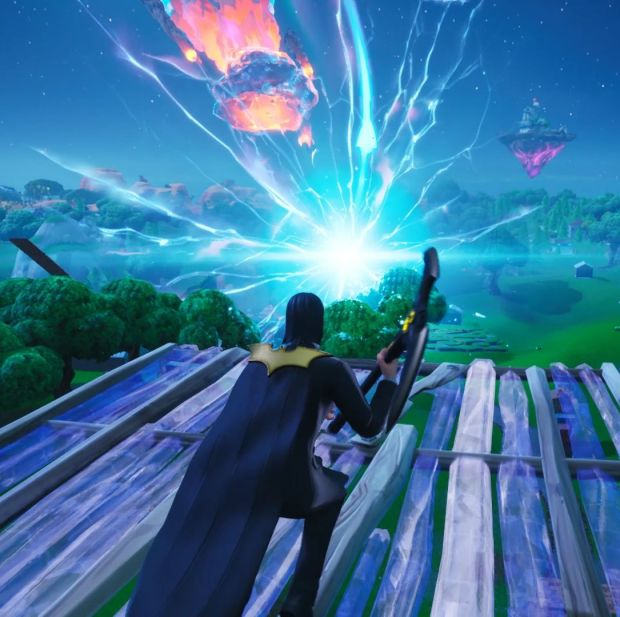 Comet Shower Fortnite Fortnite Blackout Map Is Sucked Into A Black Hole