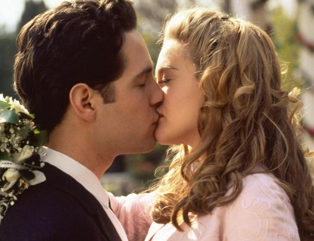 Paul Rudd with Alicia Silverstone in Clueless